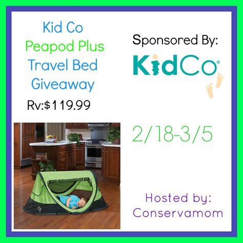 kidco peapod plus travel bed giveaway mumblebee inc