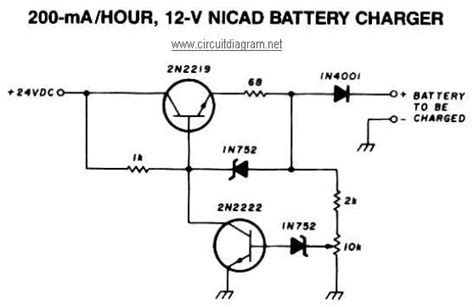nicd battery charger circuit diagram 12 battery charger nicd search battery charger