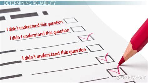 design language definition reliability in psychology definition concept video