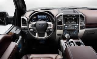 2015 Ford F 150 Platinum Interior Car And Driver