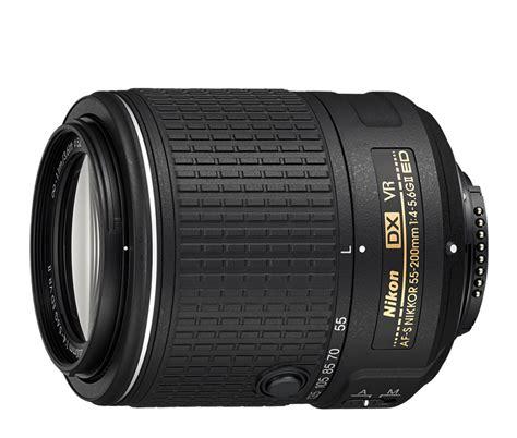 Nikon Af S 55 200mm F 4 5 6g Ed Dx af s dx nikkor 55 200mm f 4 5 6g ed vr ii interchangeable
