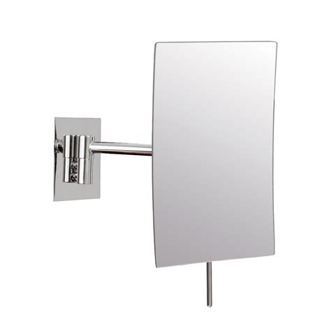 Wall Mounted Makeup Mirror Rectangular 3x In Wall Mirrors | wall mounted makeup mirror rectangular 3x in wall mirrors
