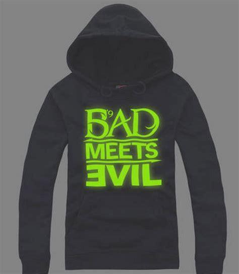 Jual Hoodie Eminem Bad Meets Evil eminem bad meets evil cotton luminous hoodie sweater hoodie eminem fresh and