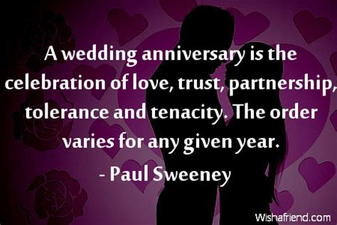 Wedding Anniversary Celebration Quote by Anniversary Quotes