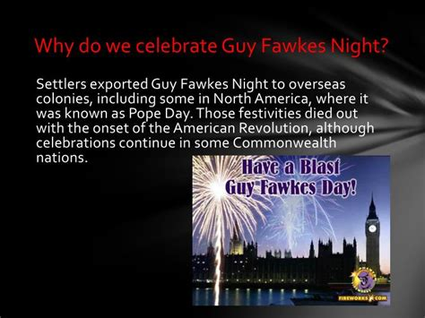 why do we celebrate ppt fawkes powerpoint presentation id 2116230
