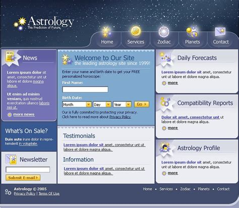 astrology swish template 11936
