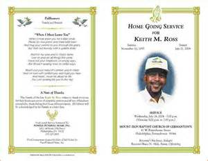 Free Funeral Program Template by 5 Free Funeral Program Template For Word Teknoswitch
