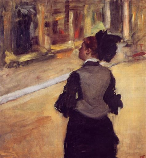 Berthe Morisot In The Dining Room by Art Amp Artists Back Views Of Women In Art