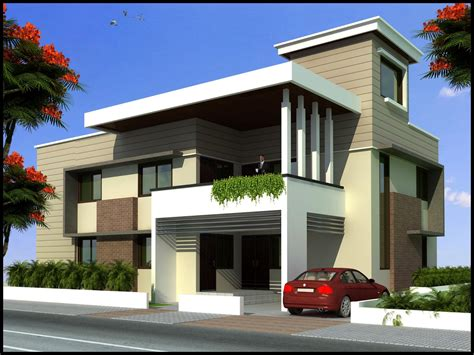modern beautiful duplex house design home plans