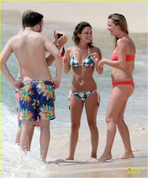 rachel bilson bikini barbados babe with shirtless hayden