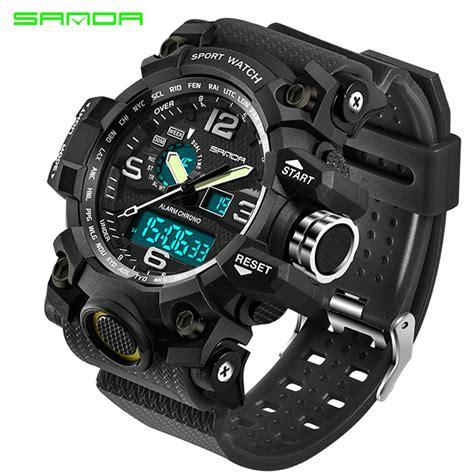 Thalea Digital Sport Wristwatch sanda sport top brand luxury electronic led digital wrist watches for