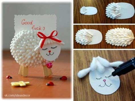 diy craft projects diy craft project lamb notes holder made from cotton