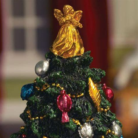 christmas dolls house the dolls house emporium decorated christmas tree 175mm