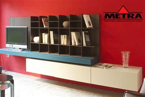libreria sintesi metra arredamenti carpi modena libreria poliform