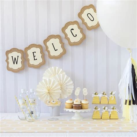Bee Baby Shower Supplies by Bee Baby Shower Theme Bee Baby Shower Decorations