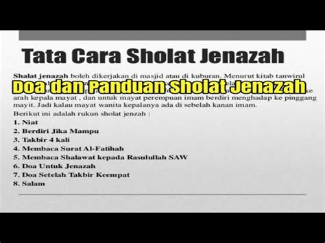 download tutorial sholat jenazah download sholat jenazah simple joox mp3 7 76 mb hits