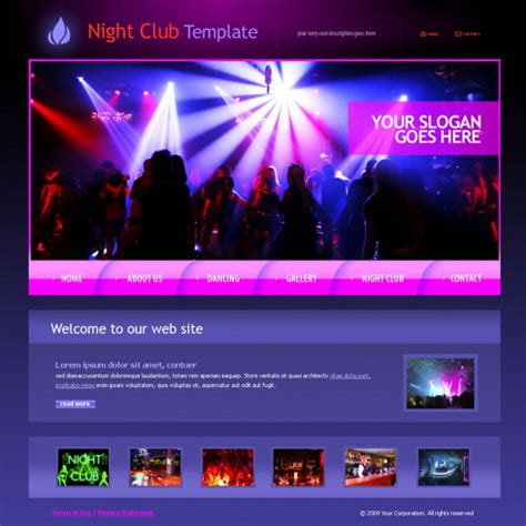 entertainment template forum web template 5998 entertainment media
