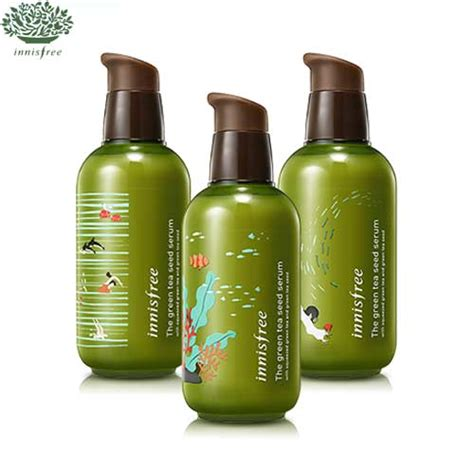 In Bottle 5ml Innisfree The Green Tea Seed Serum box korea innisfree the green tea seed serum ltd 160ml big size best price and fast