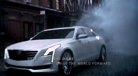 cadillac dare to be different comercial 2016 cadillac ct6 sedan revealed in oscars ad wants us to