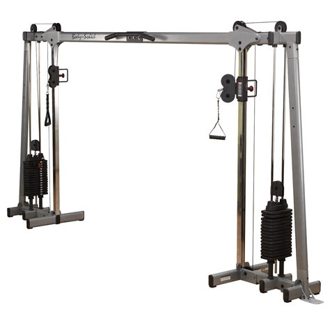 Body Solid Deluxe Cable Crossover   Live Well Sports