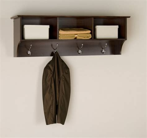 Coat Rack With Cubbies by Cubbie Shelf For Entryway In Wall Coat Racks