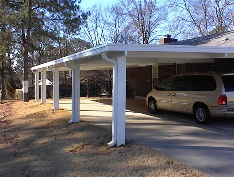 Build A 2 Car Garage by Build It Yourself Attached Carport Pictures To Pin On