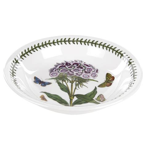 Portmeirion Botanic Garden Pasta Bowls Portmeirion Botanic Garden 8 Inch Pasta Bowl Sweet William Portmeirion Uk