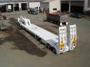 trt new trt 4x8 widening low loader and 2x8 dolly