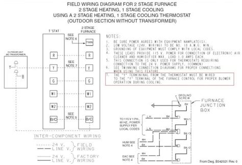 wiring diagram trane gas furnace image collections