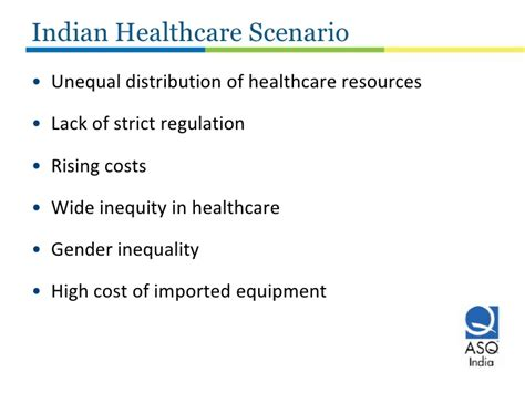 Current Scenario Of Mba In India by Improving Healthcare Quality In India