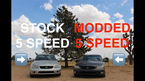 modded lexus is300 stock lexus is300 manual vs modded lexus is300 manual