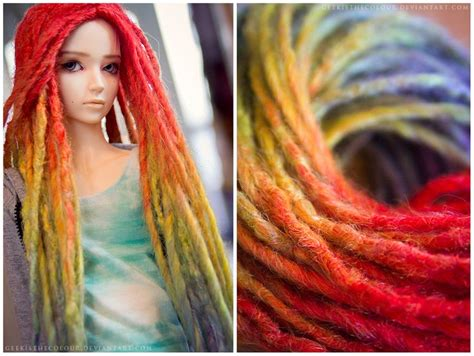 jointed doll hair tutorial best 64 doll wigs and hair tutorials images on