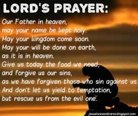 The catholic defender the lord s prayer