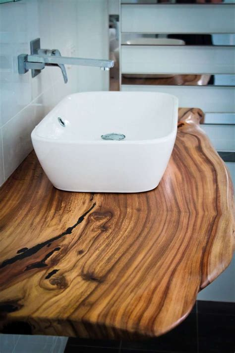 Wood Top Bathroom Vanity 17 Best Ideas About Timber Vanity On Pinterest Minimalist Bathrooms Bathroom