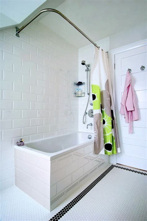 Large Subway Tile Large Subway Tile Bathroom Contemporary With Floating Vanity Modern Vanities