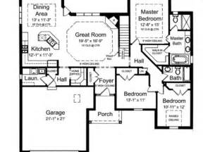 one level house plans with porch 4 bedroom house plans 4 bedroom open house plans one