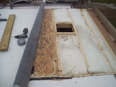 rv roof install roof installer builder roofer painter