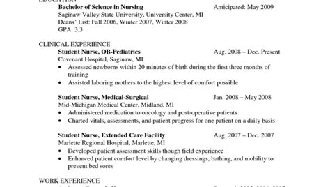 Sle Resume For Nurses With Experience by Er Resume Nardellidesign New Resume