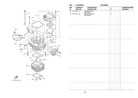 Cover Cylinder Side 2 4ys E1186 00 Ygp fz16 1 es2 2012