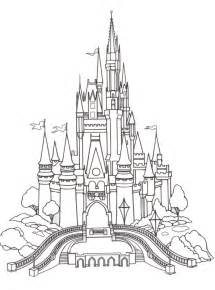 Disney World Castle Outline by Free Coloring Pages Of Animated Castle