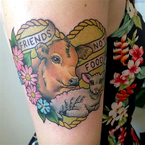 animal tattoo melbourne by kat weir at hot copper studio melbourne australia