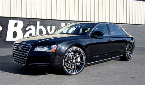 Audi A8 Custom by Asanti Wheels The Leader In Custom Luxury Wheels Black