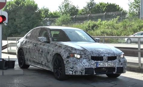 2019 Bmw 3 Series G20 by 2019 Bmw 3 Series G20 Spotted To Adopt Clar Platform