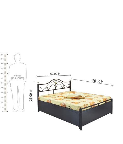 double bed size queen bed size in feet
