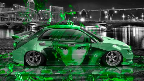 subaru tuner car subaru impreza wrx sti jdm tuning anime boy city car 2015