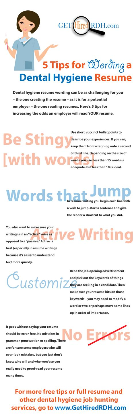 resume punctuation grammar spelling archives dental hygiene resumes sles tips ideas and