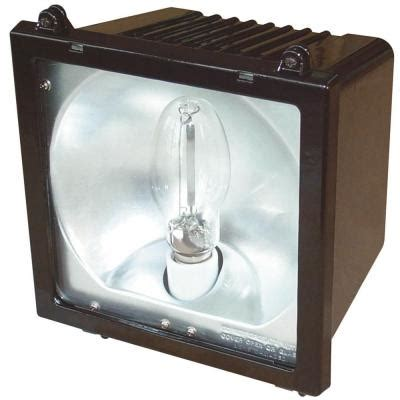 Metal Halide Outdoor Lights Lithonia Lighting Outdoor Metal Halide Bronze Flood Light With Glass Lens F150ml M4 The Home Depot