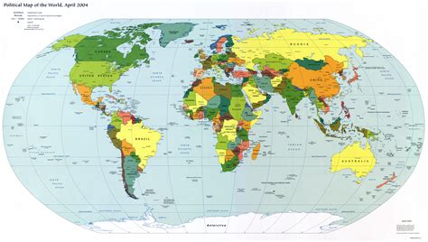 world map gateway cities large detailed political map of the world with capitals