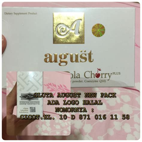 Lotion Aeuko Original gluta august gluta acerola cherry original grosir