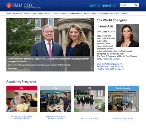 Smu Mba Recruiting by Higher Education Marketing Content Development Study